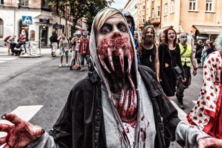 Redan nu är det zombieträffar som gäller